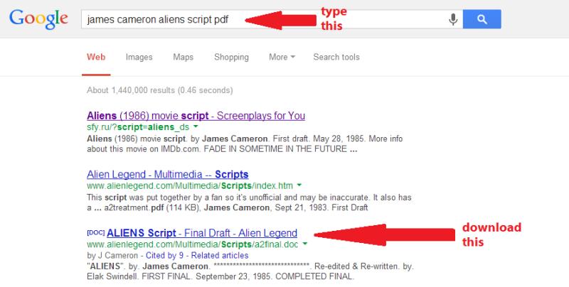 aliensscript