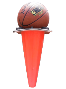 transparentbasketballintrafficcone