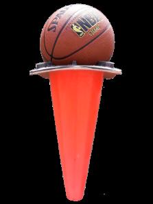 transparentbasketballintrafficcone