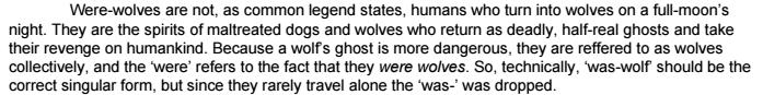 was-wolf